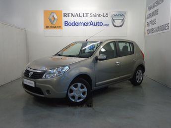 Voir détails -Dacia Sandero 1.2 16V 75 eco2 Lauréate à Saint-Lô (50)