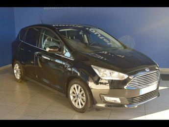 Voir détails -Ford C Max 1.5 TDCi 120ch Stop&Start Titanium à Brest (29)