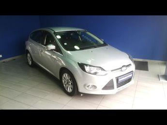 Voir détails -Ford Focus 1.6 TDCi 115ch FAP Stop&Start Titanium 5 à Brest (29)