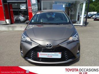Voir détails -Toyota Yaris 110 vvt-i dynamic 5p à Morlaix (29)