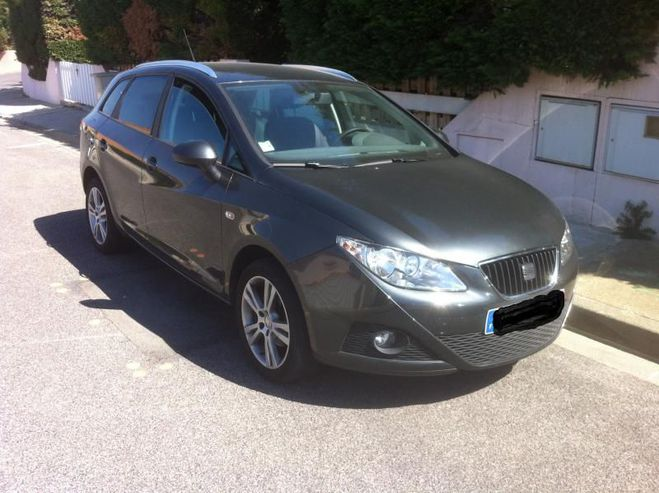 Seat Ibiza 1.6tdi 90cv style Gris de 2010