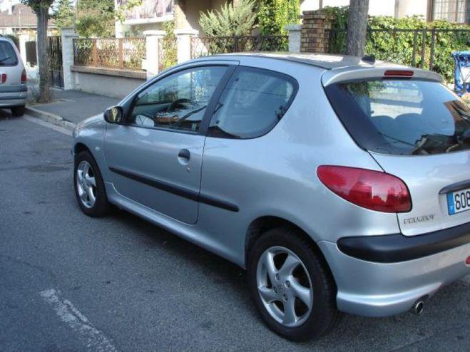 Peugeot 206 xs Gris de 2002