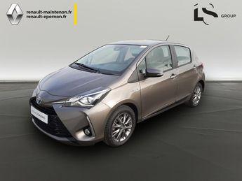 Voir détails -Toyota Yaris 100h Dynamic 5p à Maintenon (28)