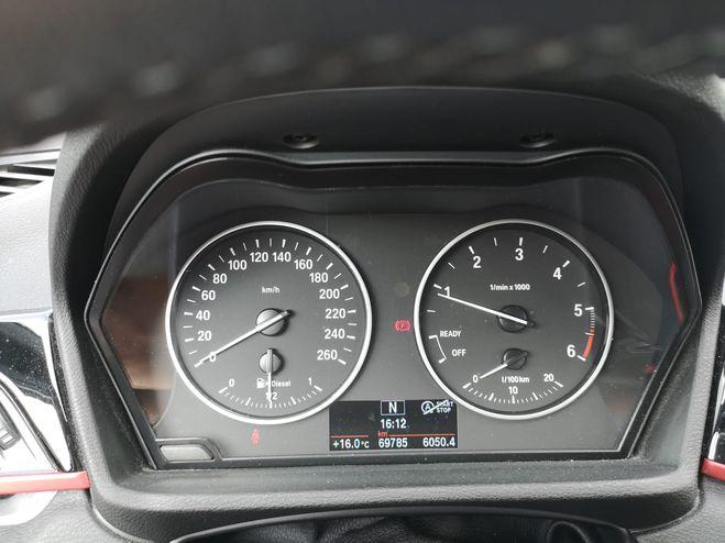 BMW X1 18d Noir de 2016