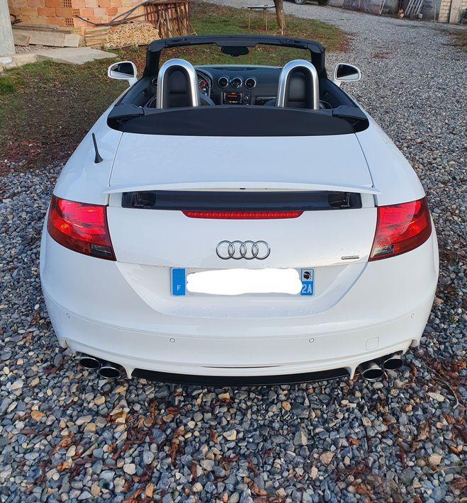 Audi TT cabriolet sline quattro blanche  de 2012