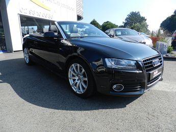 Voir détails -Audi A5 2.0 TFSI S LINE MULTITRONIC à Quimper (29)