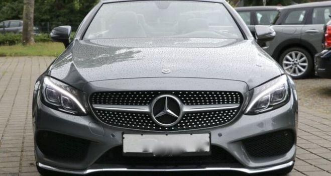 Mercedes Classe C C 220 d Cabrio gris de 2017