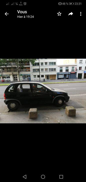 Voir détails -Opel Corsa noire 95 à Deuil-la-Barre (95)
