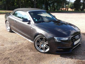 Voir détails -Audi A5 cabriolet 3.0 tri s.line quattro à Brives-Charensac (43)