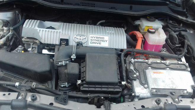 Toyota Auris hybride  Sepia de 2015