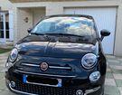Fiat 500 1.2 69 ch, Lounge berline, black, 4 cv,  à Montataire (60)