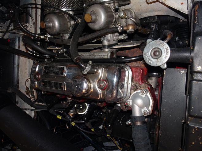 MG MGA 1956 blanche de 1956