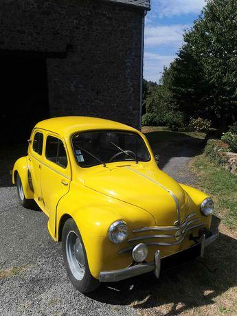 Voir détails -Renault 4CV  à Saint-Goussaud (23)