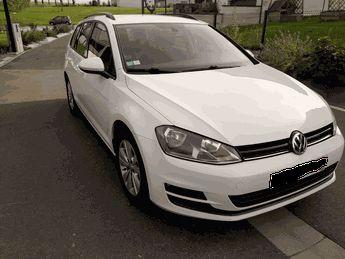 Voir détails -Volkswagen Golf  VII SW 1.6 TDI Bluemotion 105 CH à Changé (53)