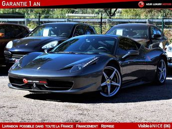Voir détails -Ferrari 458 Italia 4.5 V8 COUPE 570 GARANTIE POWER à Nice (06)