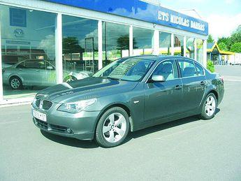 Voir détails -BMW Série 5 525 D luxe BVA à Marles-les-Mines (62)