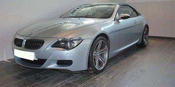Voir détails -BMW M6 CABRIOLET V10 5.0 500 SMG à Lille (59)