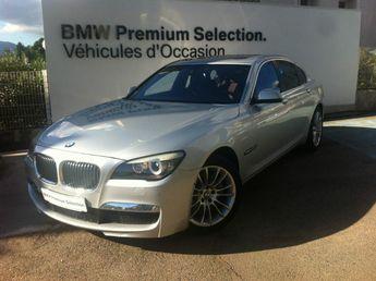 Voir détails -BMW Serie 7 7 740dA xDrive 313ch Exclusive à Ajaccio (20)